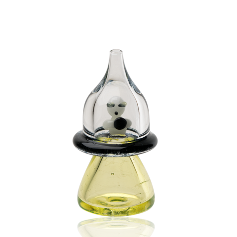Empire Glassworks – Martian UFO UV Reactive Carb Cap