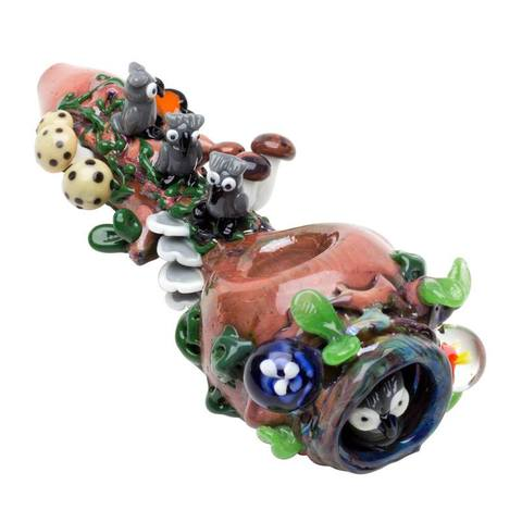 Empire Glassworks – Hooties Forest Hand Pipe